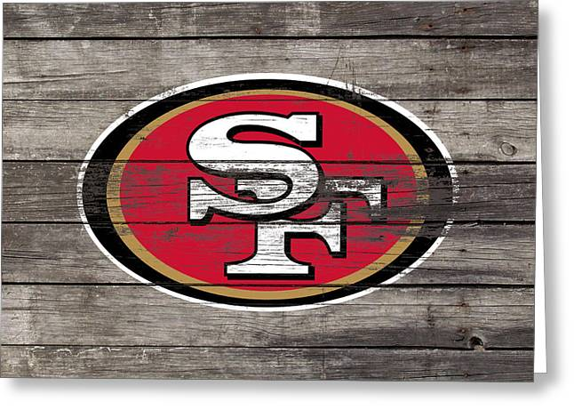 The San Francisco 49ers 3f Greeting Card by Brian Reaves