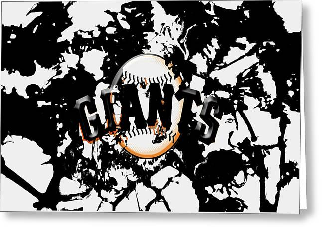 The San Francisco Giants 1a Greeting Card by Brian Reaves