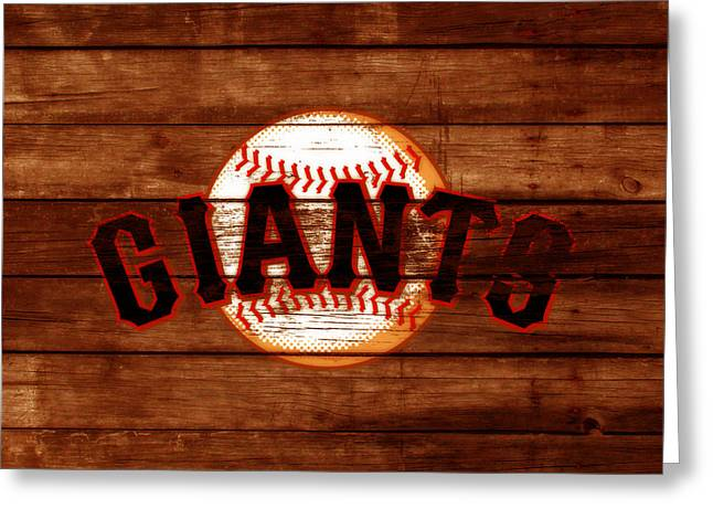 The San Francisco Giants 3c   Greeting Card by Brian Reaves