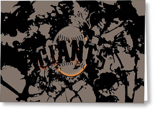 The San Francisco Giants Greeting Card by Brian Reaves