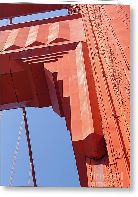 The San Francisco Golden Gate Bridge 5d3000 Greeting Card