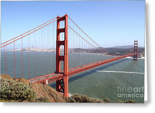 The San Francisco Golden Gate Bridge 7d14507 Greeting Card