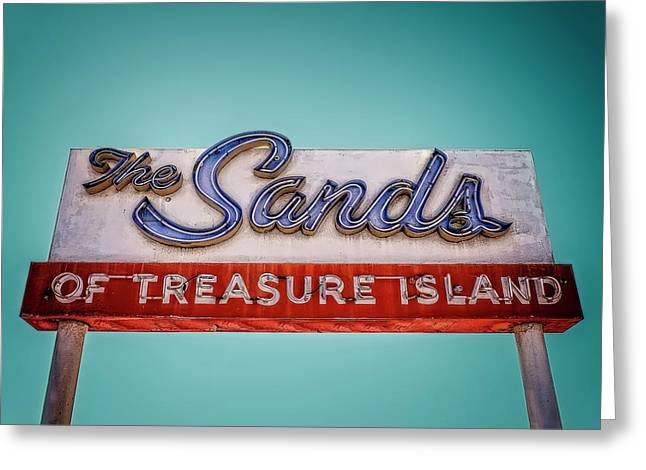 The Sands Greeting Card by Jerry Golab