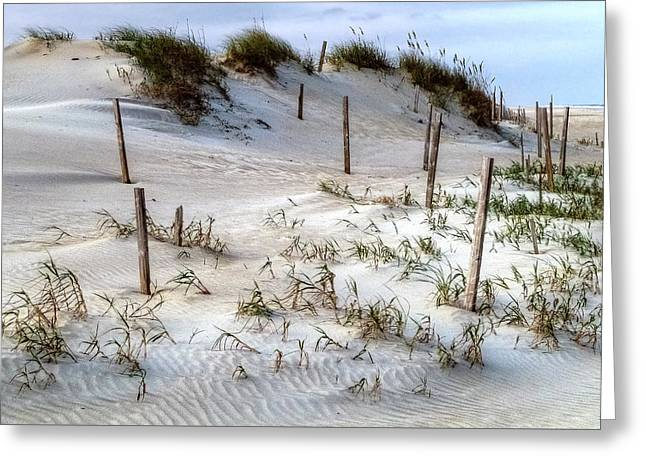 The Sands Of Obx Hdr II Greeting Card