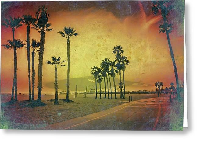The Santa Monica Way Greeting Card