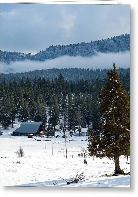 Greeting Card featuring the photograph The Satica Ranch by The Couso Collection