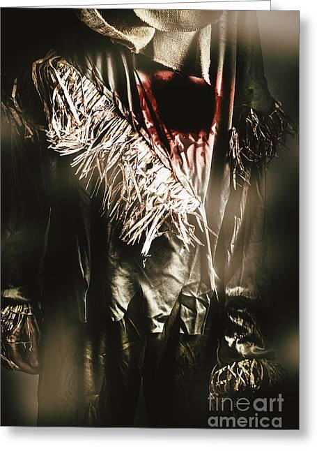 The Scarecrow - Tin Man Trade Greeting Card
