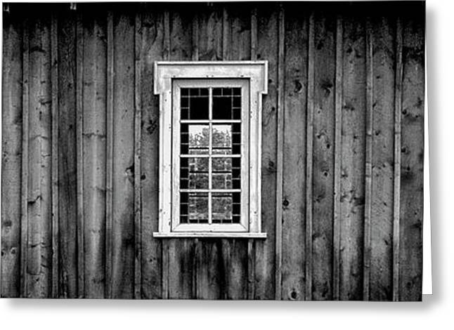 Greeting Card featuring the photograph The School House by Brad Allen Fine Art