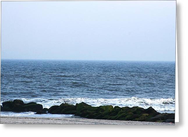 The Sea 2 Greeting Card by Paul SEQUENCE Ferguson             sequence dot net