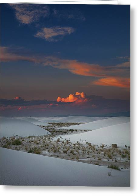 Greeting Card featuring the photograph The Sea Of Sands by Edgars Erglis