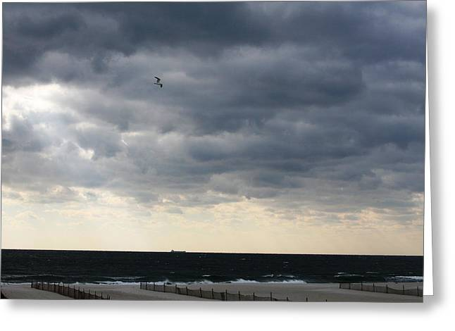 The Sea Greeting Card by Paul SEQUENCE Ferguson             sequence dot net