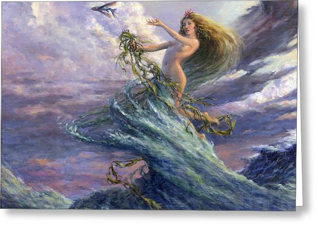 The Storm Queen Greeting Card