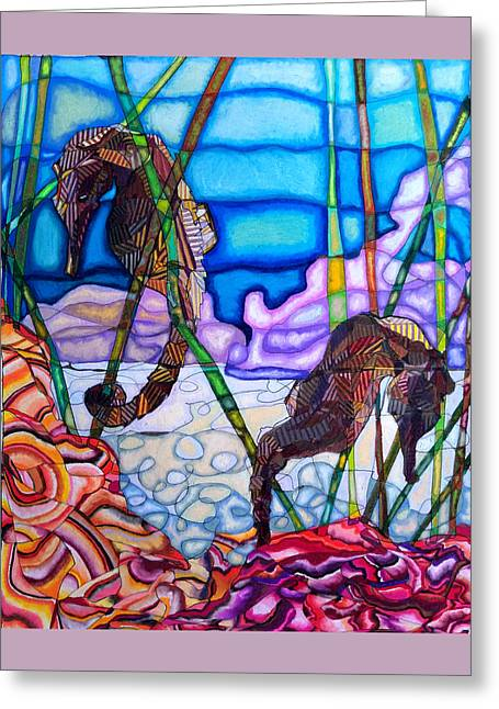 The Seahorse Life Greeting Card