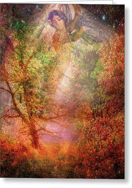 The Seasons Fall Greeting Card