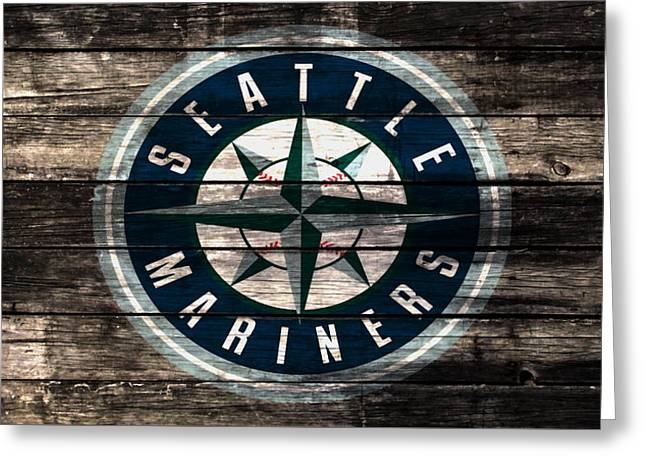 The Seattle Mariners 3a Greeting Card
