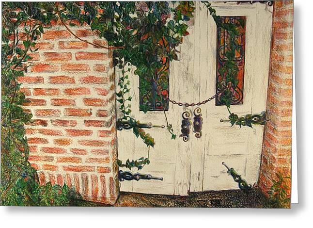 The Secret Garden Greeting Card by Lois Guthridge