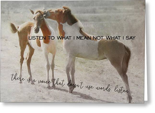 The Secret Quote Greeting Card by JAMART Photography