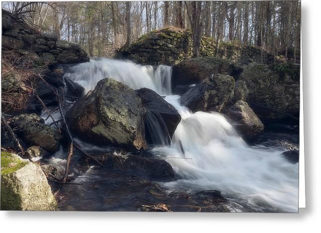 The Secret Waterfall 1 Greeting Card