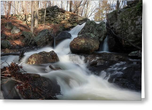 The Secret Waterfall 2 Greeting Card
