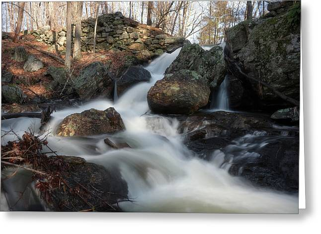 The Secret Waterfall 2 Greeting Card