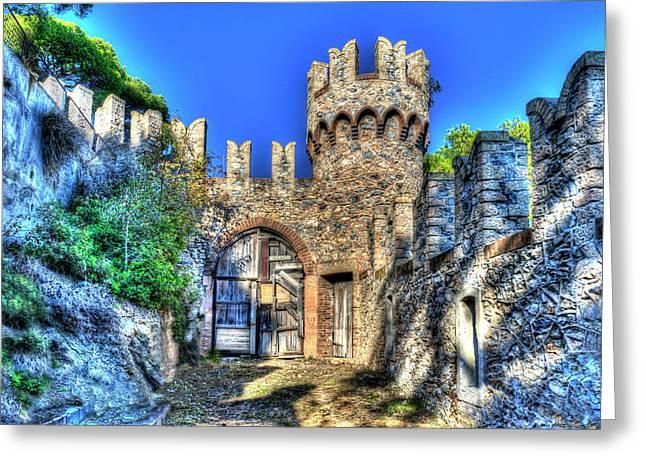 The Senator Castle - Il Castello Del Senatore Greeting Card
