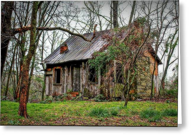 The Shack Rural Georgia Art Greeting Card