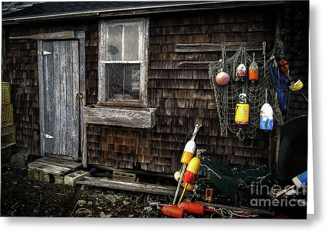 The Shack Greeting Card by Scott Thorp