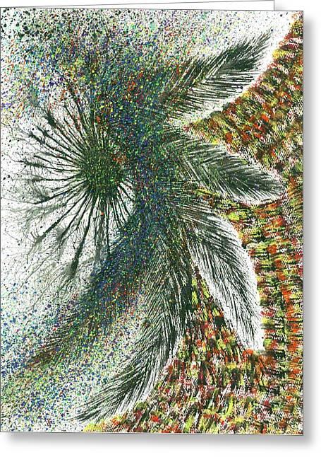 The Shaman's Journey #614 Greeting Card by Rainbow Artist Orlando L aka Kevin Orlando Lau