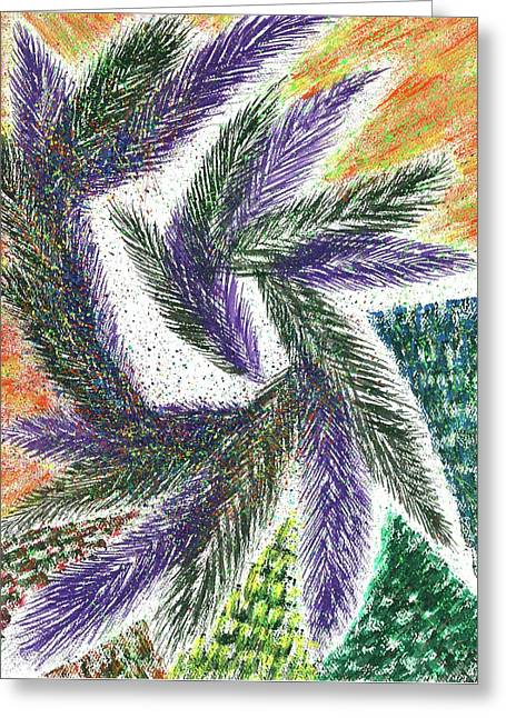 The Shaman's Journey #615 Greeting Card