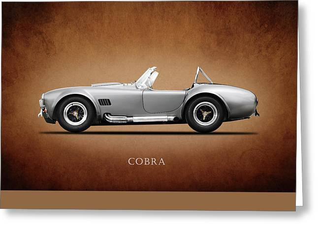 The Shelby Cobra Greeting Card by Mark Rogan
