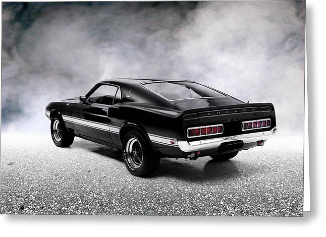 The Shelby Mustang Greeting Card by Mark Rogan