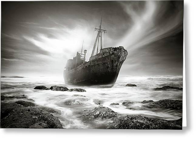 The Shipwreck Greeting Card