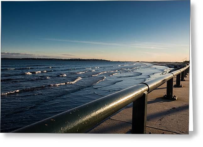 The Shore Line Greeting Card