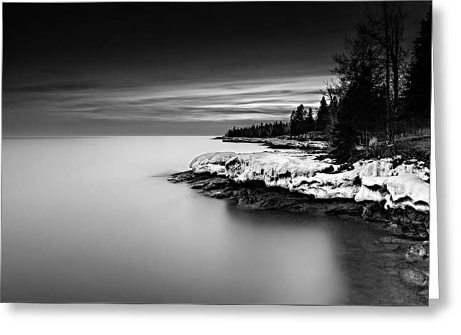 The Shore Greeting Card by Mark Goodman