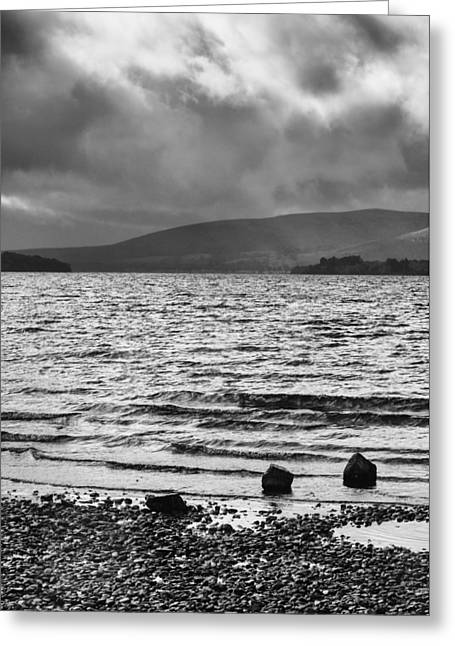 The Shores Of Loch Lubnaig Greeting Card by Christi Kraft