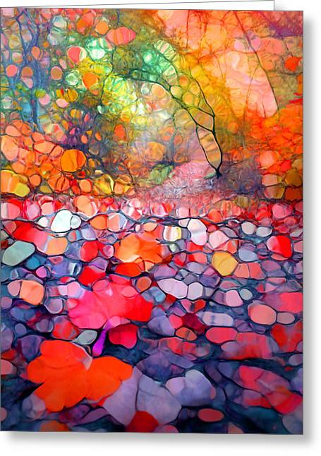The Simple Dreams Of Fallen Leaves Greeting Card