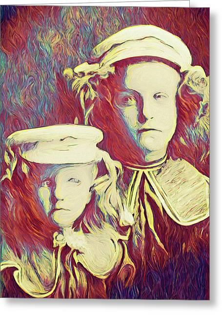 The Sisters Savage Greeting Card