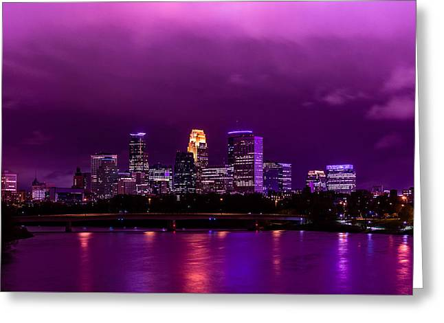 The Sky Was So Purple...  Greeting Card by Mark Goodman
