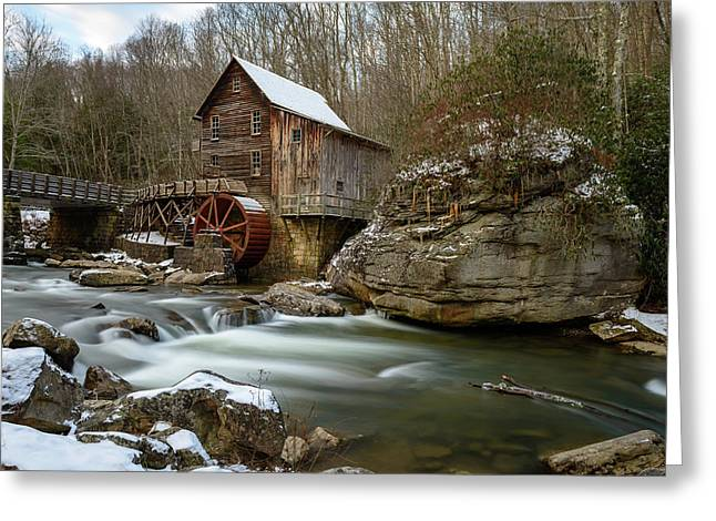 The Splendor Of West Virginia Greeting Card