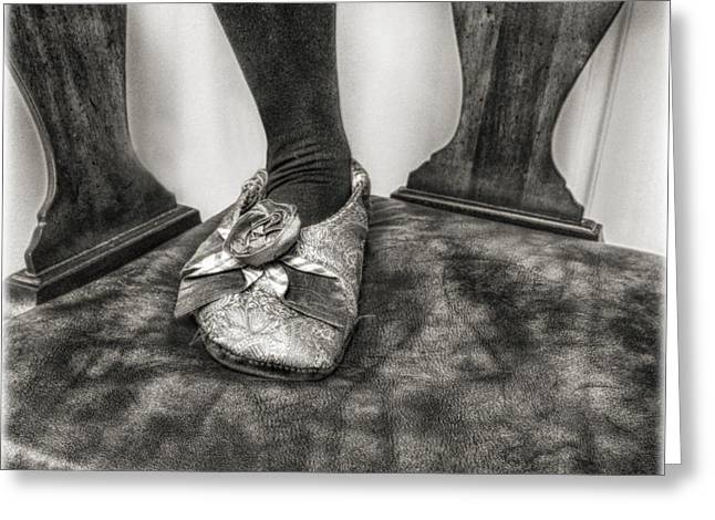 The Slipper  Greeting Card by Steven Digman