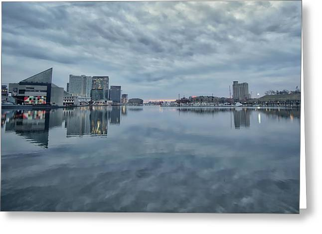 Greeting Card featuring the photograph The Sliver Of Sunrise by Mark Dodd
