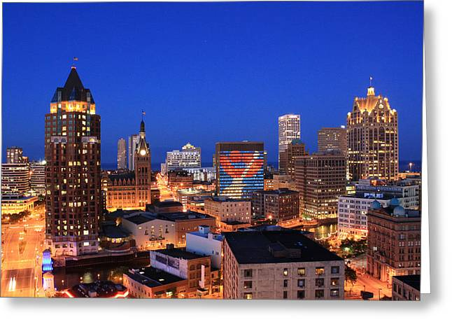 Milwaukee Greeting Cards - The Smile That Rocks 2 Greeting Card by Geoff Strehlow