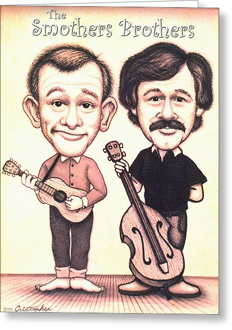 The Smothers Brothers Greeting Card