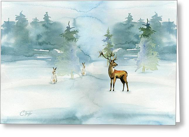 The Soft Arrival Of Winter Greeting Card by Colleen Taylor