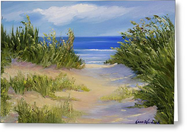 The Soft Winds Of Summer Greeting Card by Jane Woodward