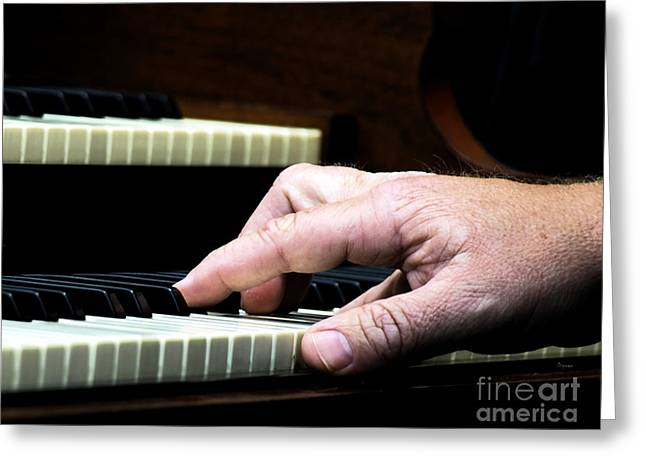 The Sound Of Hands  Greeting Card by Steven Digman
