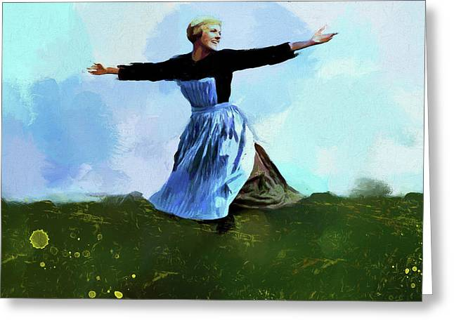 The Sound Of Music Greeting Card