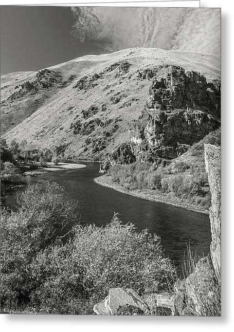 South Fork Boise River 3 Greeting Card