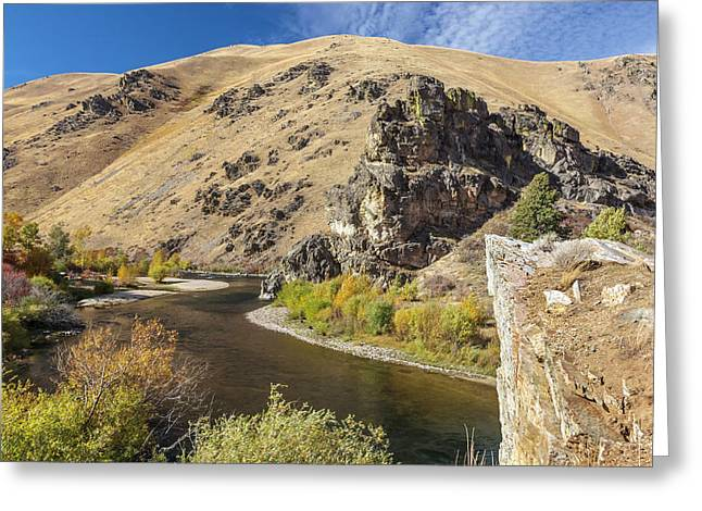 Greeting Card featuring the photograph The South Fork by Mark Mille