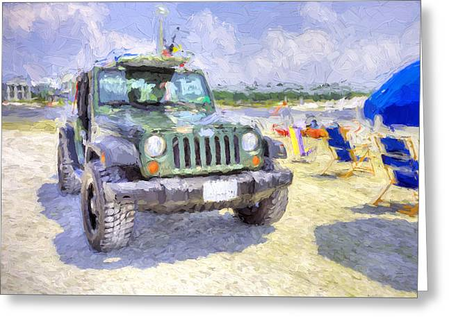 The South Walton Lifestyle Greeting Card by JC Findley